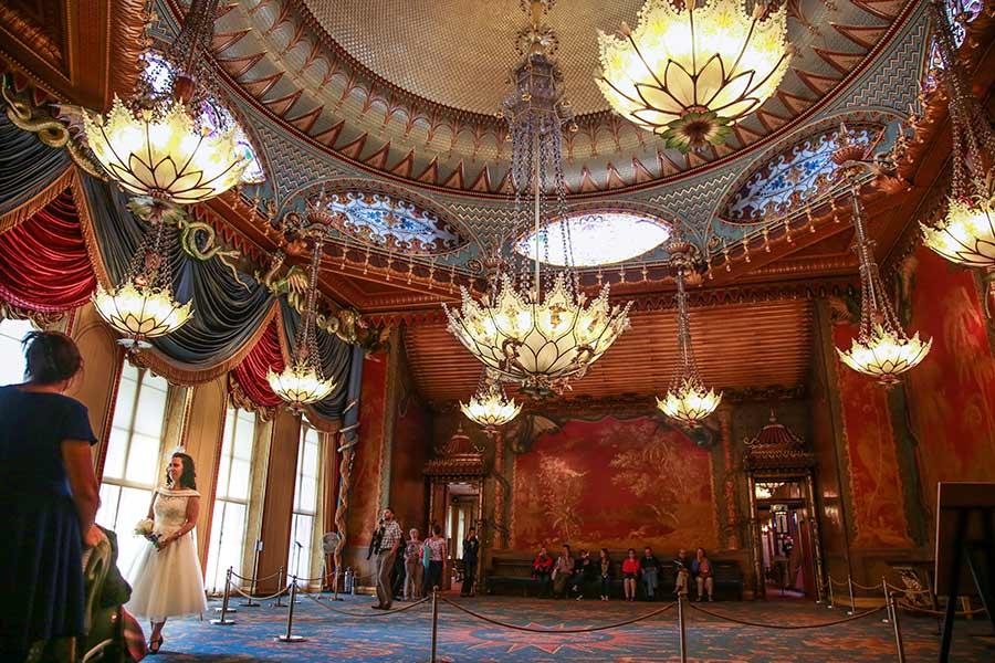 Royal pavilion brighton wedding