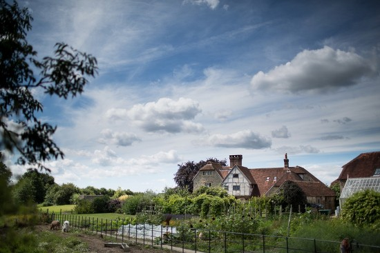 Grittenham Barn wedding venue in West Sussex