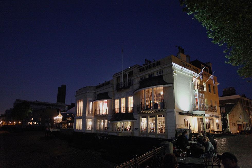 Greenwich Trafalgar Tavern Wedding
