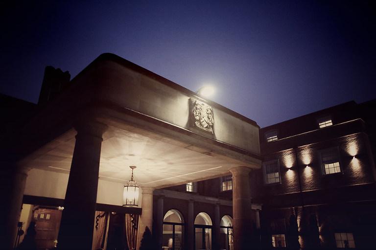 alexander house at night