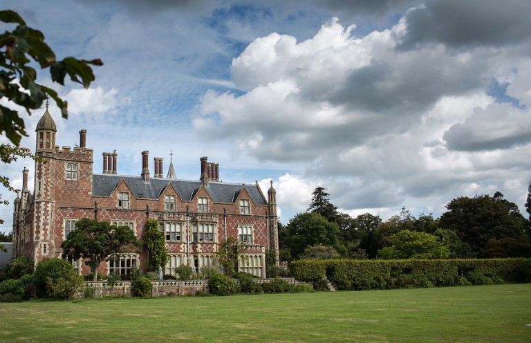 Wedding at Horsted Place, Uckfield for Amy and Phil.