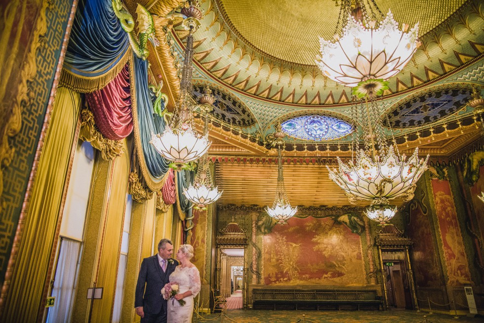 Wedding at the Royal Pavilion and Hotel Du Vin Brighton for Victoria and Robert