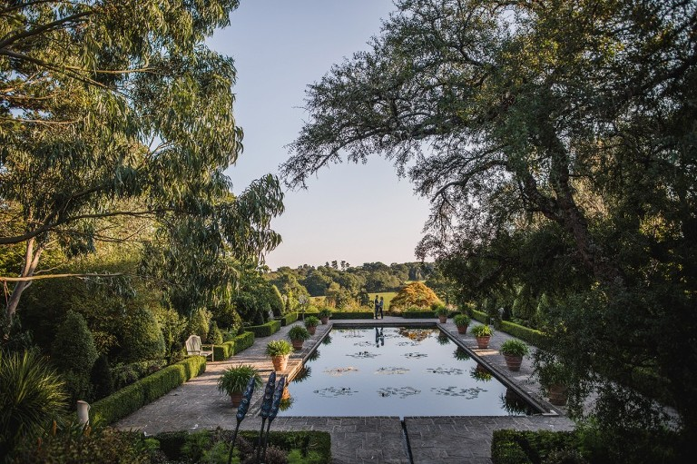 pre-wedding shoot borde hill gardens