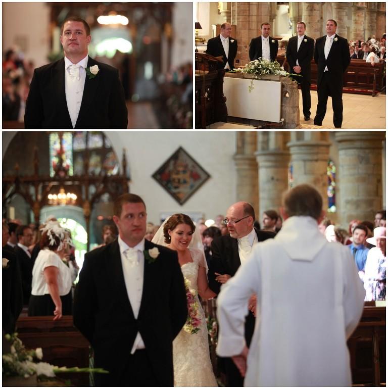 Wedding Ceremony At St Marys Church Horsham 187 Paul
