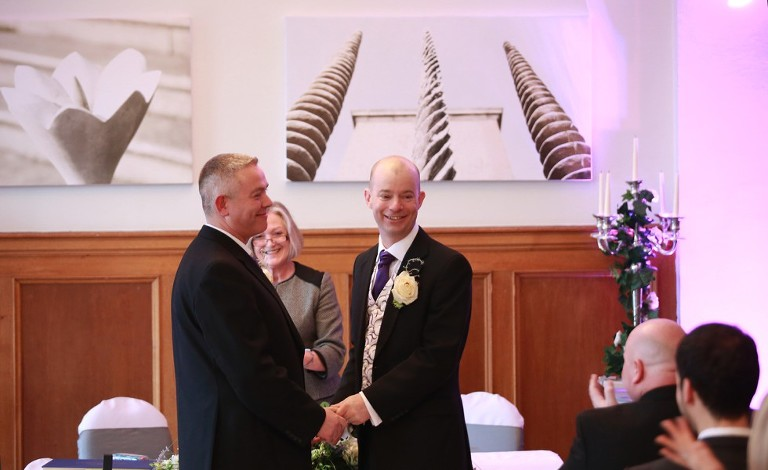 jon and david marry at pelham house lewes