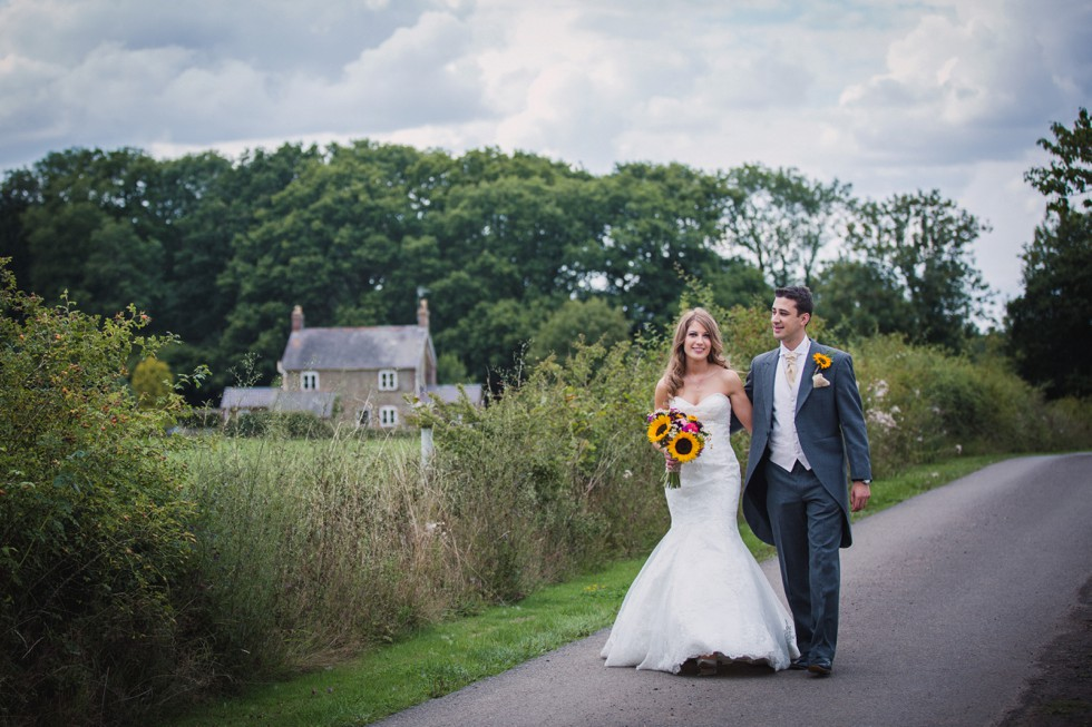 Fran and Anthony's wedding at Batholomew Barn, West Sussex