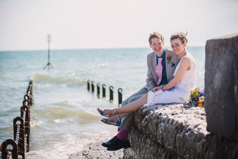 Eleanor and Martin's wedding at Brighton Town Hall and the Old Market in Hove
