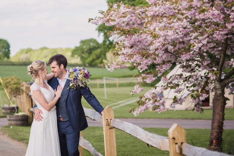 Wedding at Bartholomew Barn for Jessica and James
