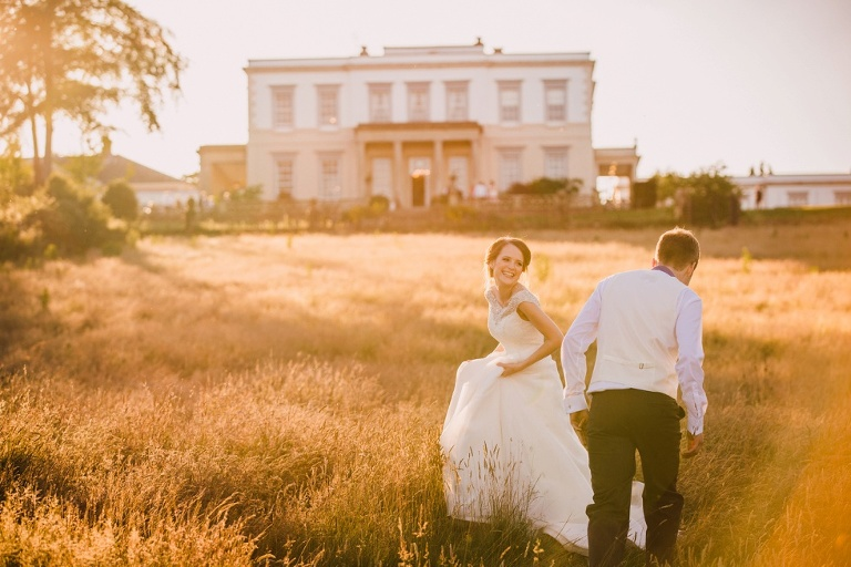 Charlotte and Nick's Buxted Park Wedding