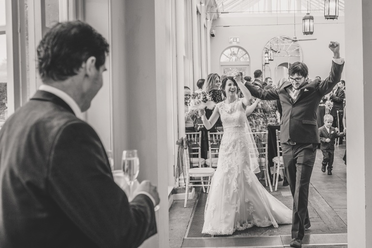 Emma's and James' Buxted Park wedding