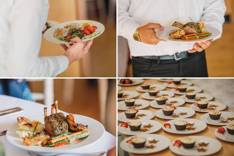 Epic Catering at Rachel and Matthew's Punnetts Town Village Hall