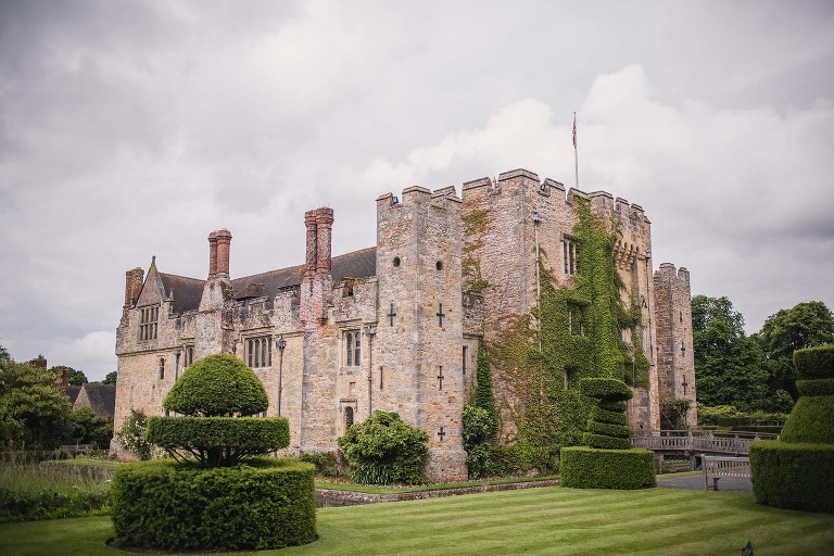 View of Hever Castle.