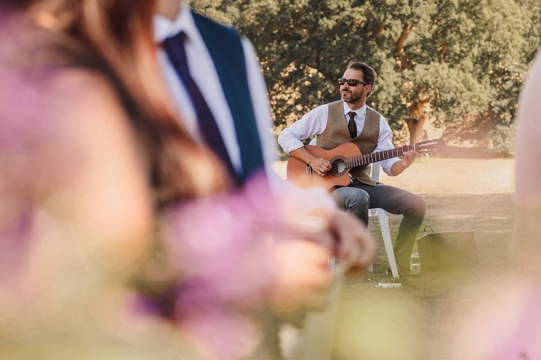 Wedding Guitarist at Wadhurst Castle