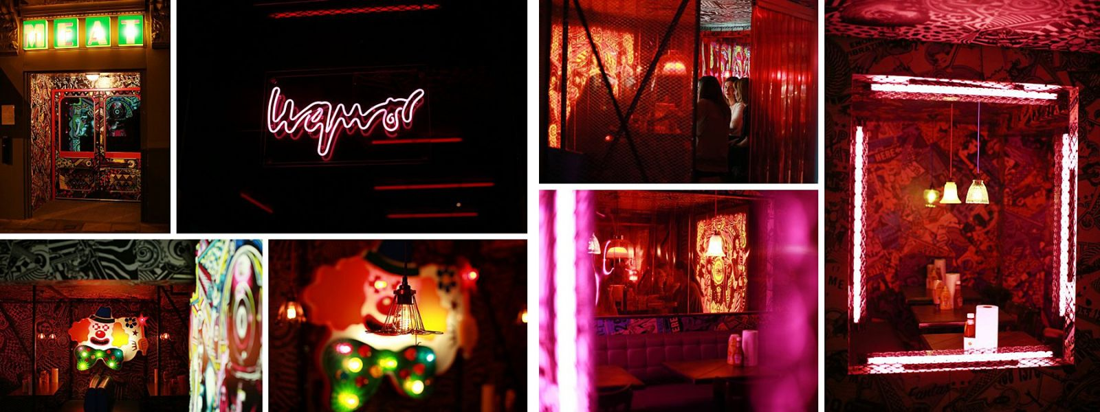 interior meat liquor Brighton