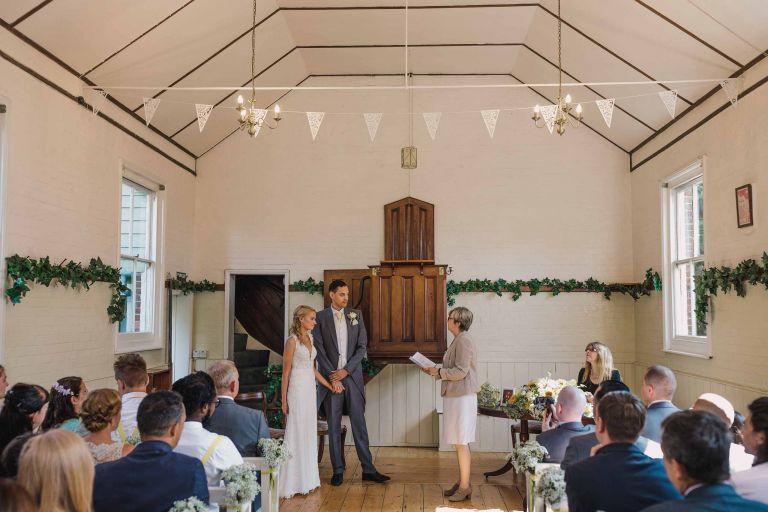 Sussex Chantry wedding ceremony